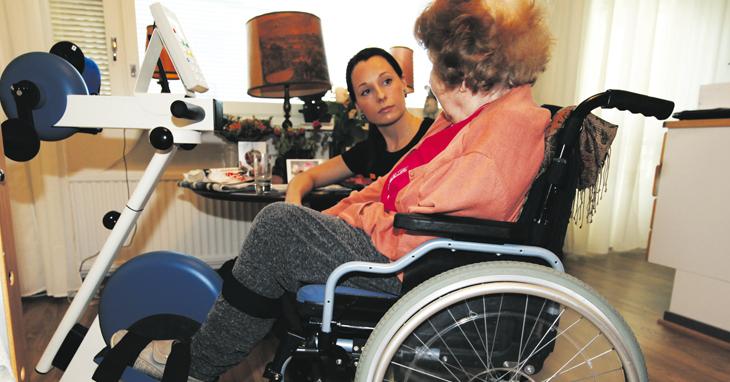 Fysios auttaa ikääntyneitä elämään täyttä elämää